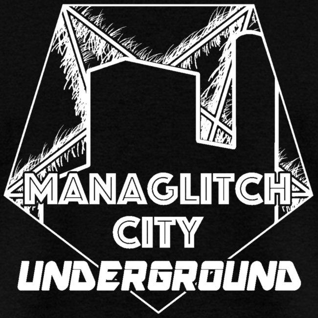 Managlitch Aura Pentagram men's t-shirt