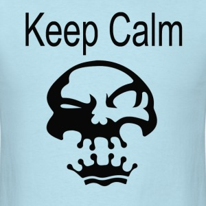 Keep Calm Crown Skull - Men's T-Shirt