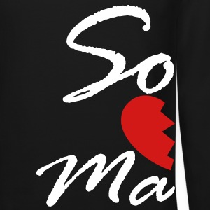 soul mate - right Long Sleeve Shirts - Crewneck Sweatshirt