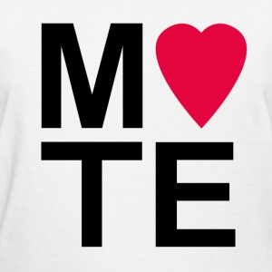 Soulmate MATE Pair Couple Shirt - Women's T-Shirt