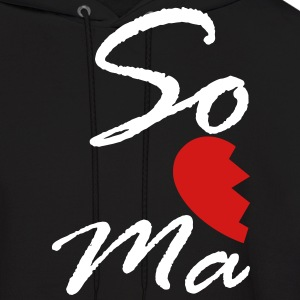 soul mate - right Hoodies - Men's Hoodie
