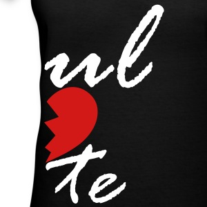 soul mate - left Women's T-Shirts - Women's V-Neck T-Shirt