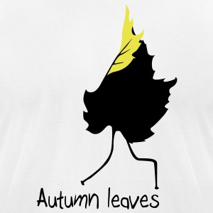 Autumn leaves T-Shirts - Men's T-Shirt by American Apparel