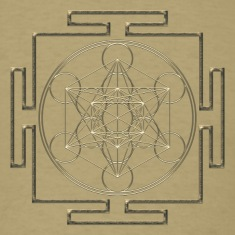 Yantra - Metatron`s Cube - Flower of Life / T-Shirts
