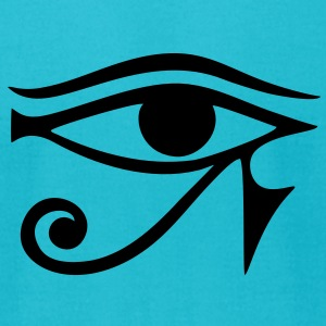 EYE of Horus/ Ra, reverse moon eye of Thoth/ T-shirts (manches courtes) - T-shirt pour hommes American Apparel