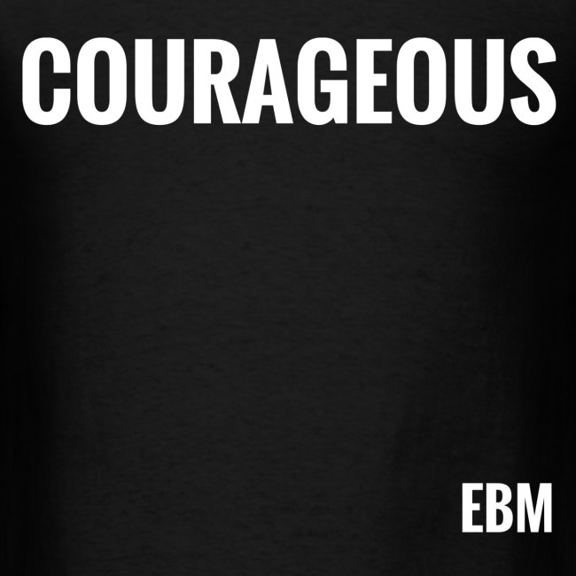 Courageous Black Males Black Men's T-shirt Clothing by Stephanie Lahart.