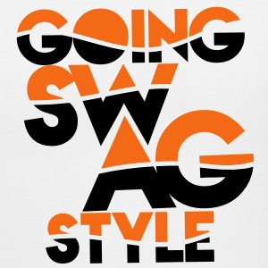GOING SWAG STYLE two color Women's T-Shirts - Women's V-Neck T-Shirt