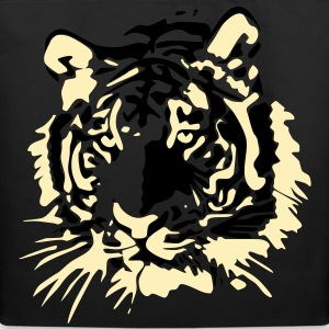 Tiger Head Vector Bags  - Eco-Friendly Cotton Tote