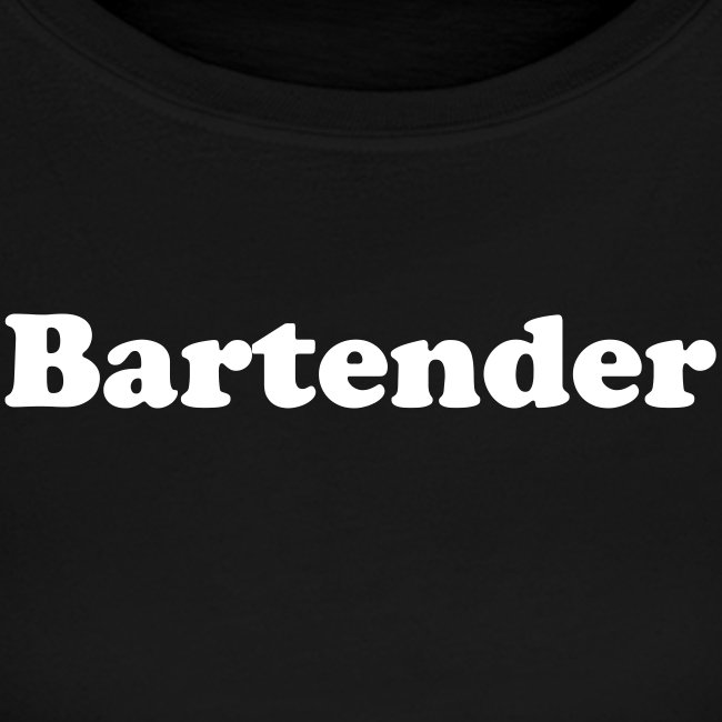 Bartender/Staff - wht text