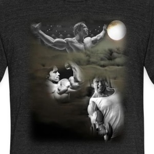 3 Arnold Moon - Unisex Tri-Blend T-Shirt by American Apparel