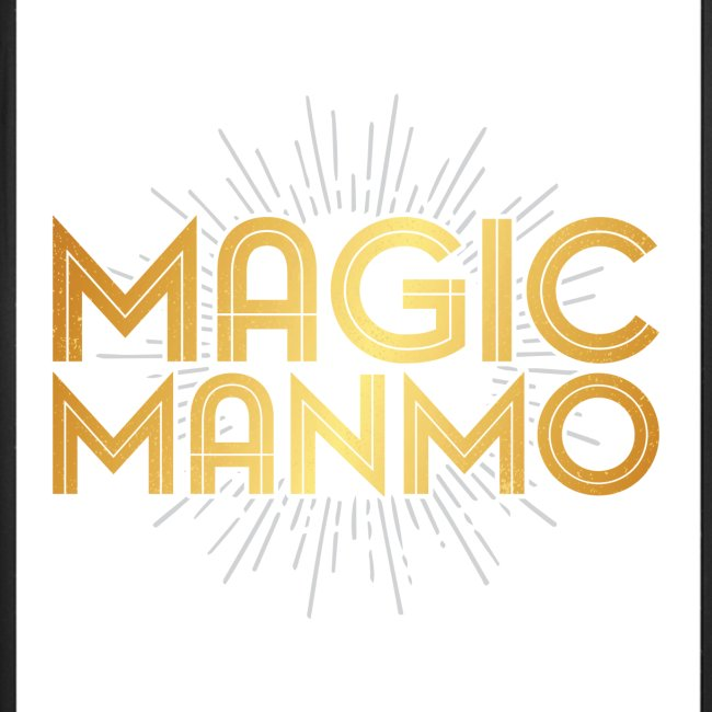 """MagicManMo"" iPhone 7 Plus / 8 Plus Rubber Case"