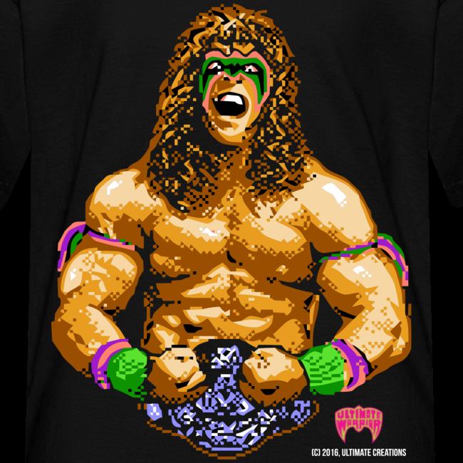 Ultimate Warrior 8-Bit Kids Shirt