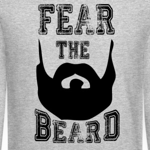 fear the beard Long Sleeve Shirts - Crewneck Sweatshirt