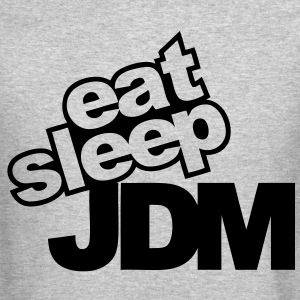 eat sleep jdm Long Sleeve Shirts - Crewneck Sweatshirt