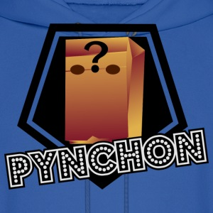 Thomas Pynchon Paper Bag Head - Men's Hoodie