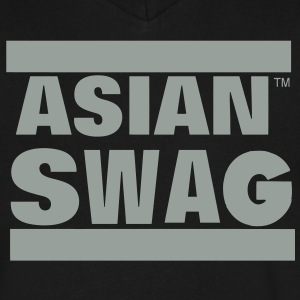ASIAN SWAG T-Shirts - Men's V-Neck T-Shirt by Canvas