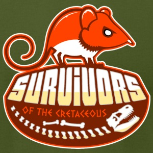 Survivors of the Cretaceous T-Shirts - Men's T-Shirt by American Apparel