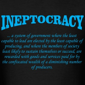 ineptocracy definition T-Shirts - Men's T-Shirt