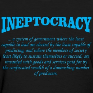 ineptocracy definition Women's T-Shirts - Women's T-Shirt