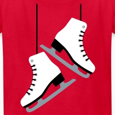 White Skates Kids' Shirts