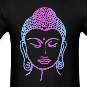 Tye-Dyed Buddha - Men's T-Shirt