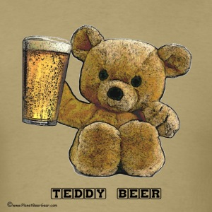 Teddy Beer T-Shirt - Men's T-Shirt