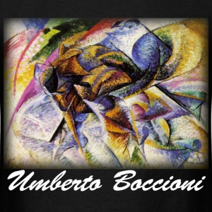 Boccioni - Dynamism of a Cyclist - Men's T-Shirt