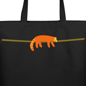 red panda Bags  - Eco-Friendly Cotton Tote