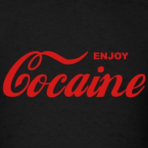 Enjoy Cocaine men's Shirt - Men's T-Shirt