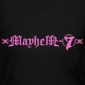 MayheM-7 - Logo 4 - Pink - Women's Long Sleeve Jersey T-Shirt