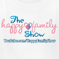 Design ~ Happy Family Show Kids Logo T-Shirt