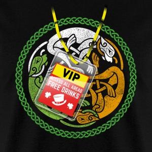 Funny St. Patrick's Day T-Shirt Irish Flag & Pass
