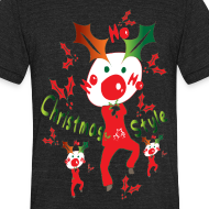 Design ~ Christmas style Men's Tri-Blend Vintage T-Shirt by American Apparel