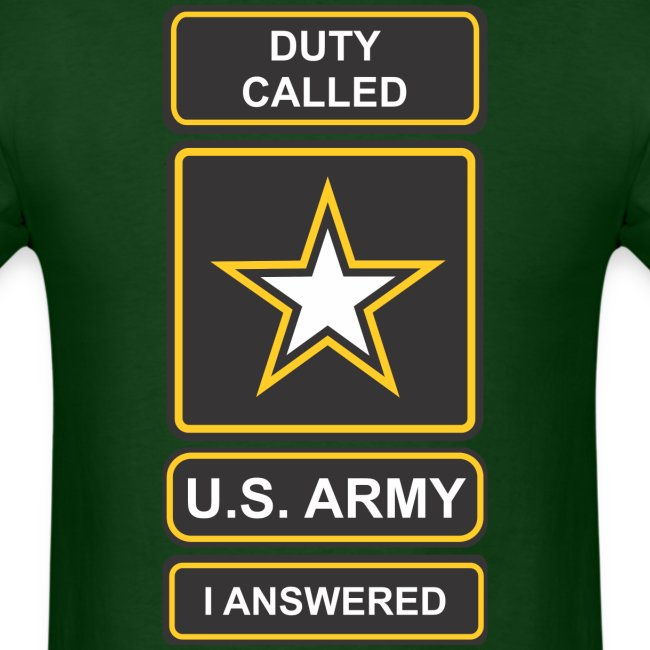 Duty Called Army M