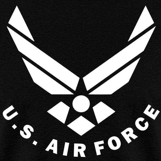 Wokestore U S Air Force Logo Vector Mens T Shirt