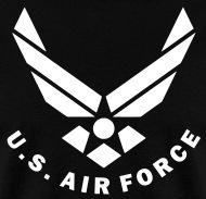 wokestore u s air force logo vector mens t shirt rh shop spreadshirt com air force logo vector free nike air force logo vector
