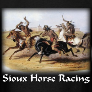 Bodner – Horse Racing of the Sioux - Men's T-Shirt