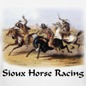 Bodner – Horse Racing of the Sioux - Women's T-Shirt