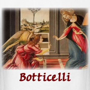 Botticelli - The Annunciation - Men's T-Shirt