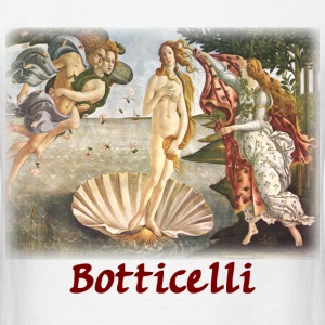 Botticelli - Birth of Venus - Men's T-Shirt