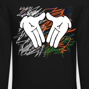 diamond hands Long Sleeve Shirts - Crewneck Sweatshirt