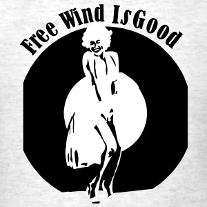 free_wind_is_good_2_colors4 T-Shirts - Men's T-Shirt