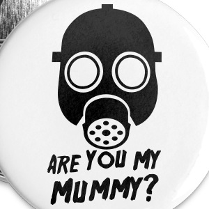Doctor Who: Are you my Mummy? Pin - Large Buttons