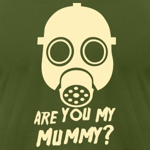 Doctor Who: Are you my Mummy? Pin - Men's T-Shirt by American Apparel