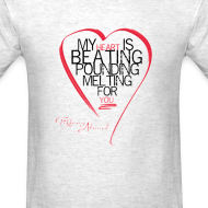 Design ~ Red Heart with Song Lyrics
