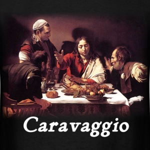 Caravaggio – Supper with Emmaus - Men's T-Shirt