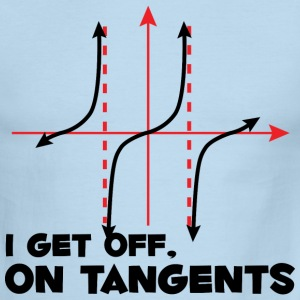 I Get Off On Tangents - Men's Ringer T-Shirt