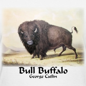 Catlin - Bull Buffalo  - Women's T-Shirt