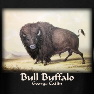 Catlin - Bull Buffalo  - Men's T-Shirt