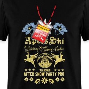 Apres Ski Drinking Team Member